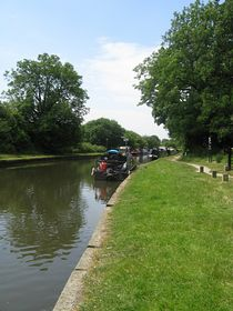 The canal at Parbold. © Claire and Tony Wakefield