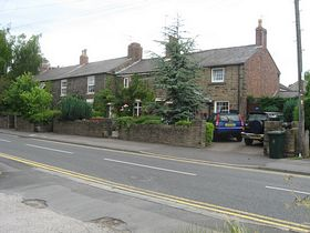 Cottage in Parbold village © Claire and Tony Wakefield