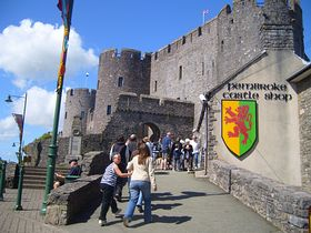 Great family day out at Pembroke Castle © Wayne Davies