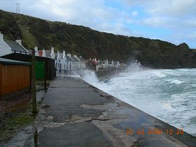 Pennan in a storm © Susan Johnson