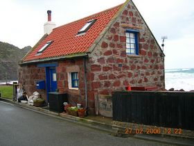 An old net store Pennan © Susan Johnson