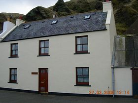 Diftwood Cottage Pennan © Susan Johnson
