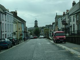 View of the town © Dave Quinnell