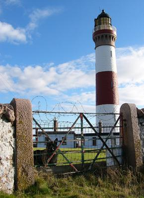 Buchanness Lighthouse near Peterhead