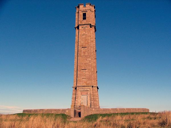 Reform Tower, built in 1832  in Peterhead, Scotland