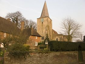 Pluckley Church © Mark Baldwyn