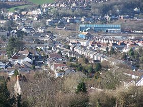 View of Pontardulais © Brian Lloyd