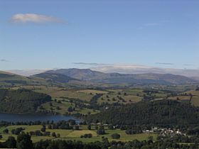 Pooley Bridge from Heughscar Hill © Mrs Chris Bradley