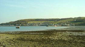 View of the Port across Kames Bay © Liz Donald