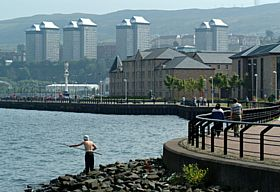 The Waterfront, Port Glasgow © Dennis M Bradley