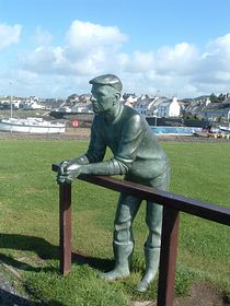 Statue at Port William © Shirley