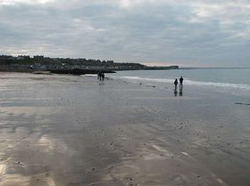 Portessie beach © Lauren Taylor