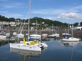 Porthmadog Harbour © Marion Mitchell