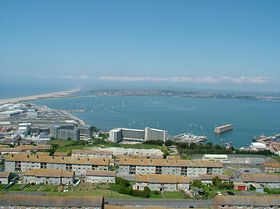 Overlooking Portland Harbour © Dave Quinnell