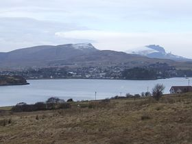 Portree from The Braes © Charlie Millard