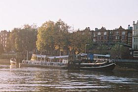 View from Putney Ferry to Putney Pier Lower Richmond Road © J Holland