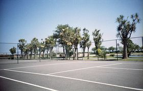 Mooragh Park Tennis Courts © Christopher Jones Photography 2007