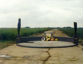USAF war memorial built in 1995 by locals © Raydon Photographic Archive