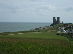 The coastline and the towers. © Phill Vidler