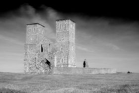 Reculver Church © Richard Cook