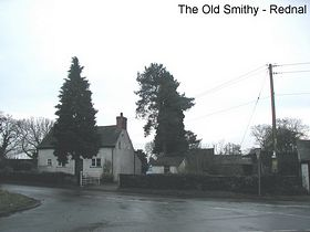 The Old Smithy Rednal © Brian Drury