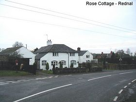 Rose Cottage Rednal © Brian Drury