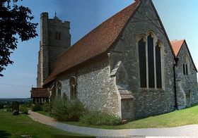 Rettendon Church &c0py; Peter Mandell