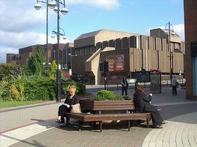 Rotherham library and arts centre © Linda Gamston