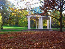 Rotherham, bandstand in Clifton Park © Linda Gamston