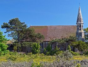 Rye Harbour church © Barry Yates