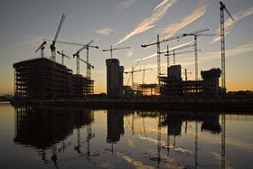 New buildings at Salford Quays © Jeff Shepherd