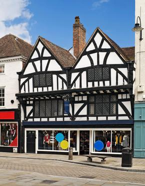 Half Timbered Buildings in Salisbury