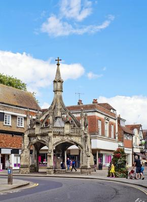 The Poultry Cross in Salisbury Centre