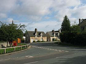 Saxton main road from church © Norman Allen