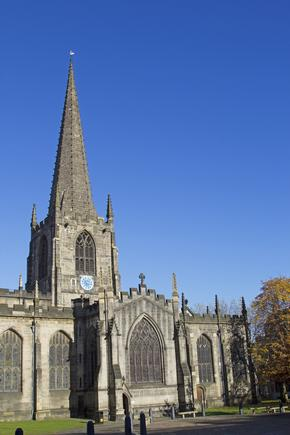 Sheffield Cathedral, South Yorkshire