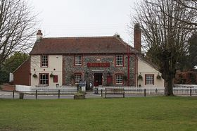 Typical of today's village pub - The Bell Inn © James Apps