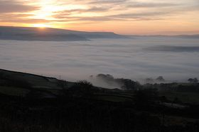 Heavy Fog over the Aire Valley © Mr Philip Moon ( HKt.B )