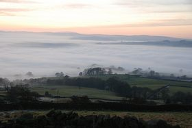 Fog over the Aire Valley © Mr Philip Moon ( HKt.B )