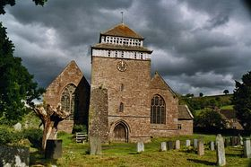 Skenfrith church © Roger Davies