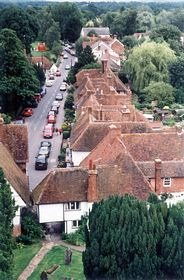 Arial view of Smarden © Laura Hawken