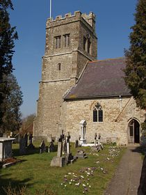 St Michael's Church of the Archangel in spring © Laura Hawken