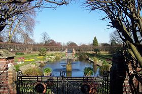 Garden at Kensington Palace © Larry Taylor