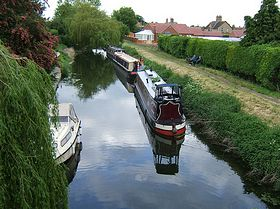 An annual narrowboat meeting takes place each late spring bank holiday at South Kyme copy; Peter Bettis