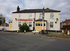 Kings Arm Pub. ©  Peggy Cannell