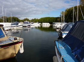 Private Moorings ©  Peggy Cannell