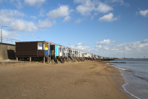 Beach Huts at Thorpe Bay, nr Southend-on-Sea, Essex