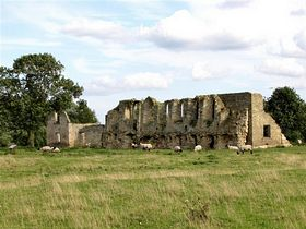 Tupholm Abbey near Southrey © Roy Harrison