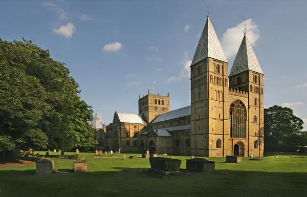 Southwell Minster nearly a thousand years old.