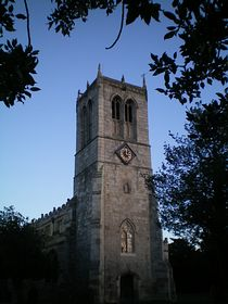 St Mary's church,Sprotbrough[800 year's old] © Philip Cookson