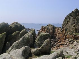 St Agnes Shoreline  - photo by Chris Bradley